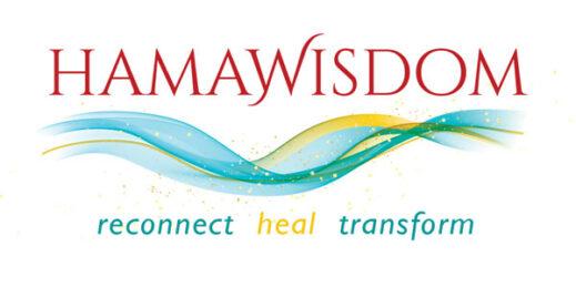 Logo HAMAWISDOM – reconnect, heal, transfrom