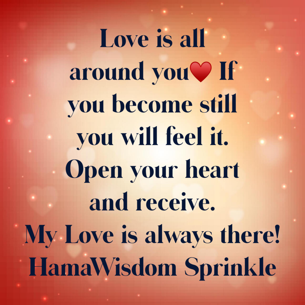 Quote Image Love is all around you